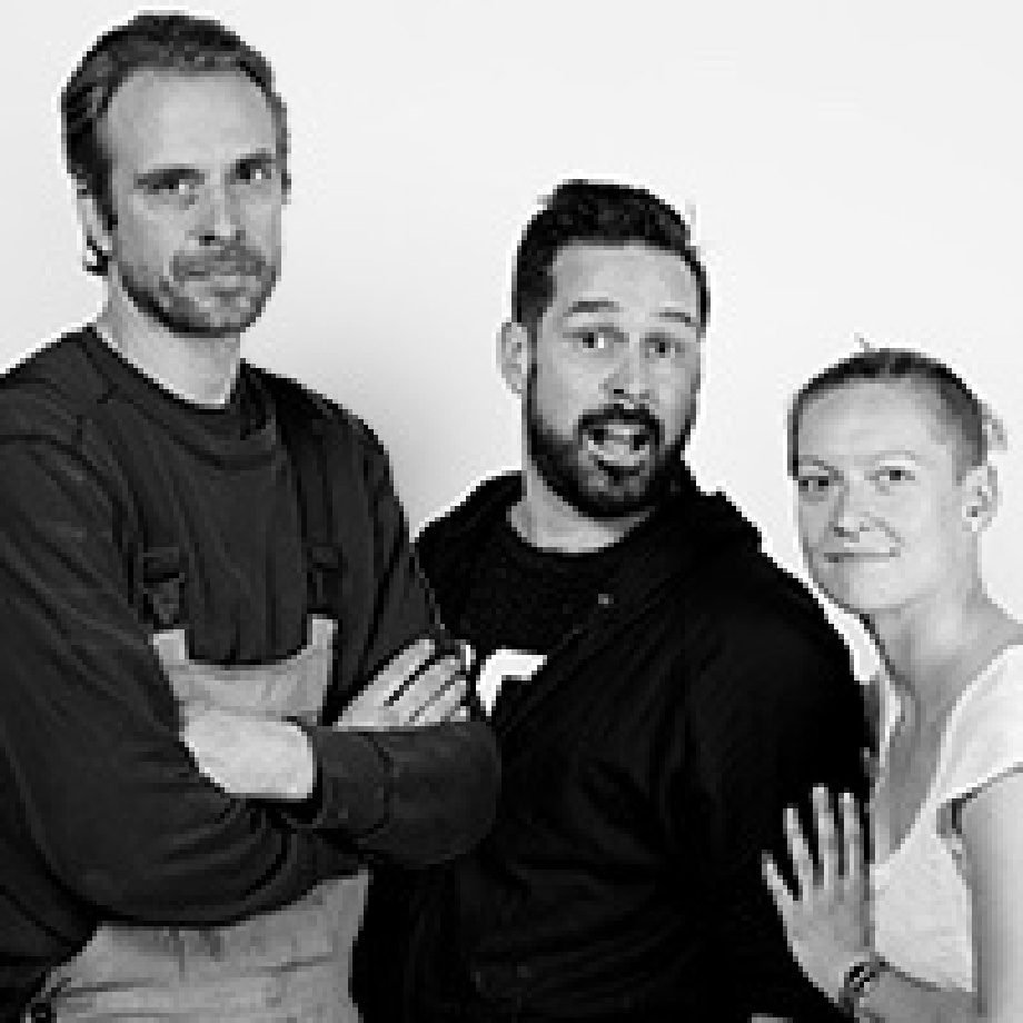 Bryan Humphrey, Matthew Day Perez, and Martyna Szczęsna